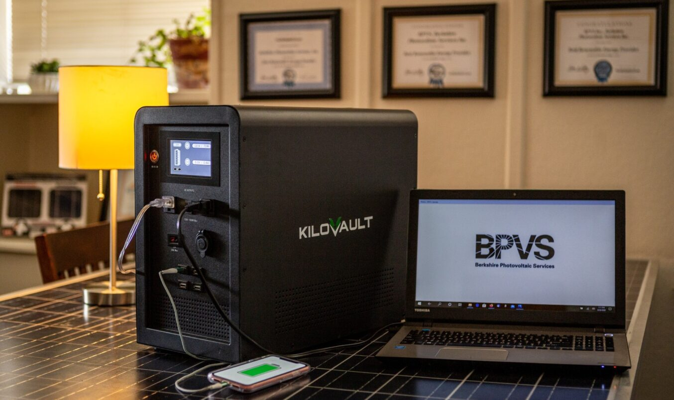 The KiloVault RES-Q Portable Battery Unit